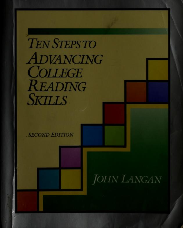 10 Steps to Advancing College Reading Skills (Townsend Press Reading Series) by John Langan