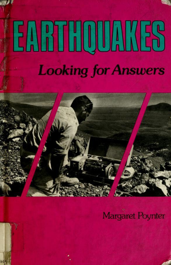 Earthquakes by Margaret Poynter