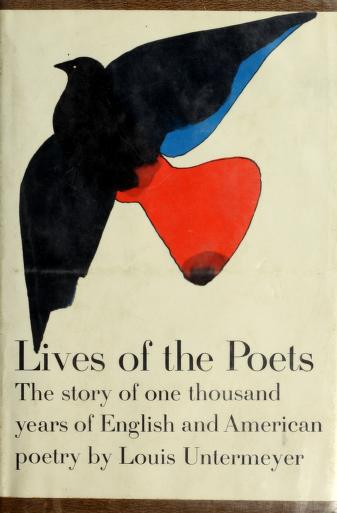 Cover of: Lives of the poets | Louis Untermeyer
