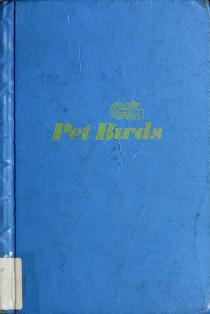 Cover of: Pet birds | Joan Joseph