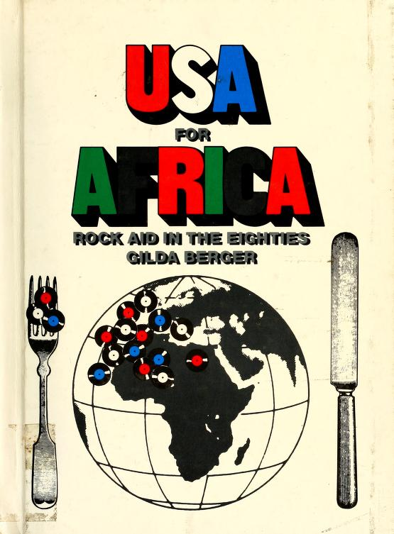 USA for Africa by Gilda Berger
